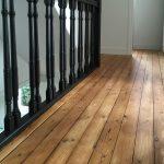 plancher bois vernis